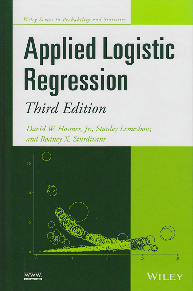 Stata Bookstore: Applied Logistic Regression, Third Edition
