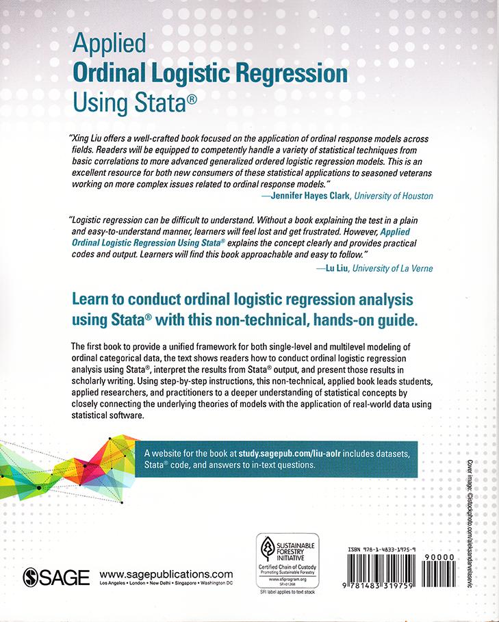 Stata Bookstore: Applied Ordinal Logistic Regression Using Stata