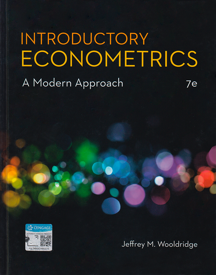 Stata Bookstore: Introductory Econometrics: A Modern Approach