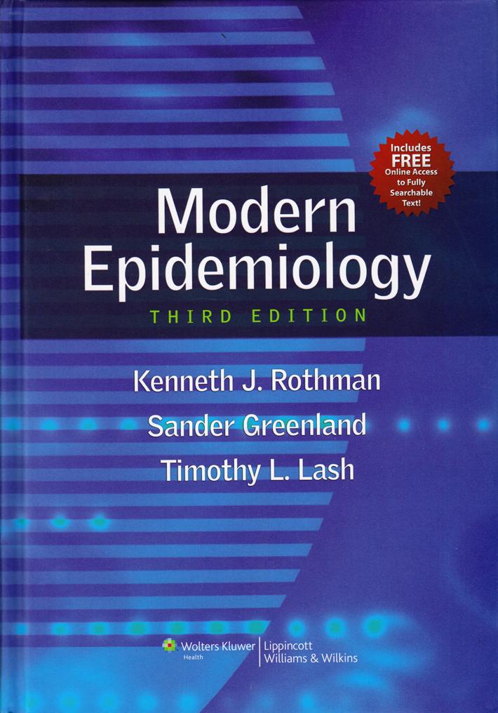 Stata Bookstore Modern Epidemiology Third Edition Revised