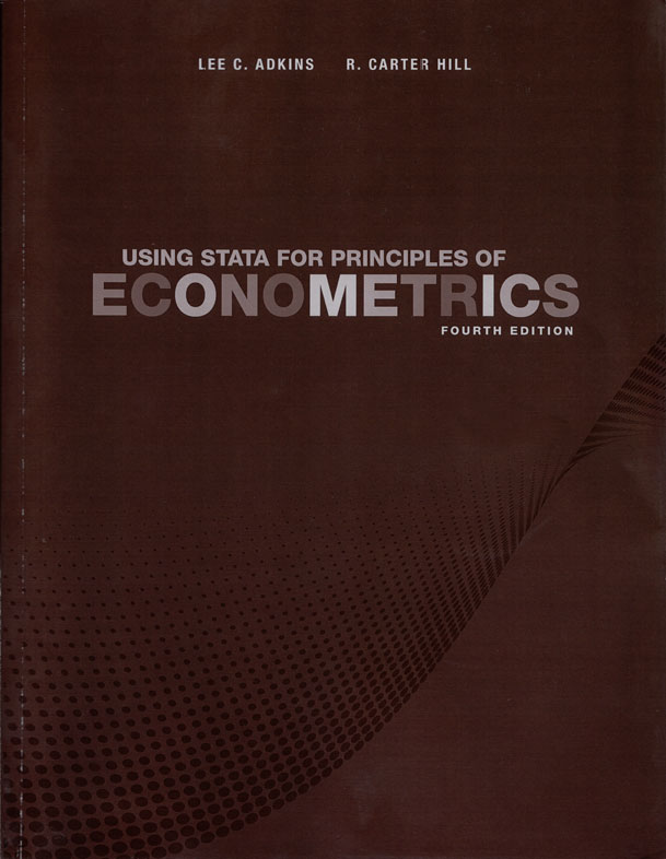 econometrics stata R is a programming language and not just an econometrics program, most of the functions we will be interested in are available through libraries (sometimes called.