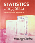 Statistics Using Stata: An Integrative Approach