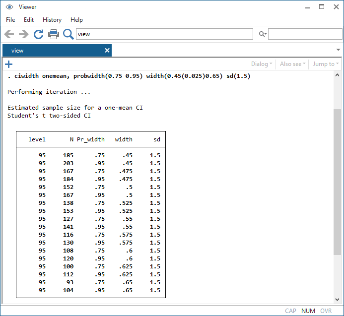 sample size calculation in stata forex