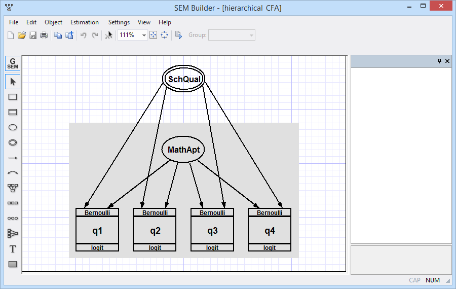 Generalized structural equation modeling | Stata
