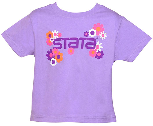 Stata Gift Shop | Children's flower t-shirt