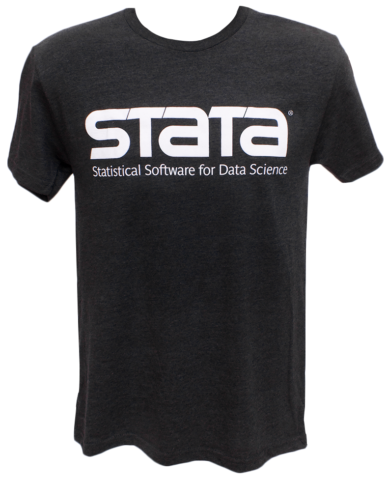Charcoal data science t-shirt