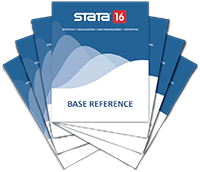 Stata documentation