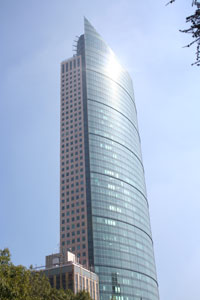 Torre Mayor in Mexico City