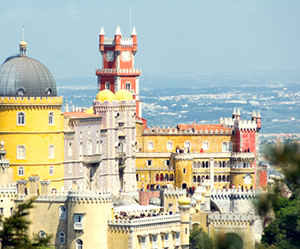 Pena National Palace in Lisbon, Portugal