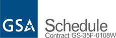 GSA Schedle - Contract number GS-35F-0108W