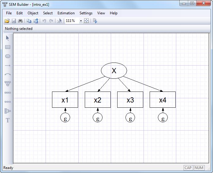 Stata | Structural equation modeling (SEM)