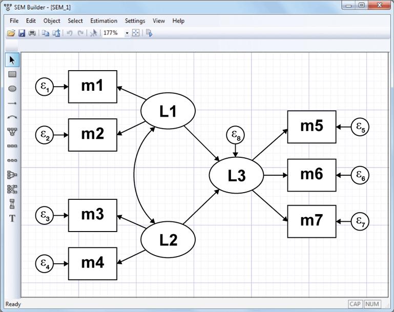 Structural equation modeling (SEM)   Stata
