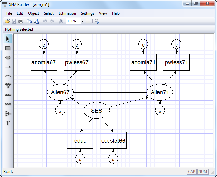 Stata 12 embraces structural equation models