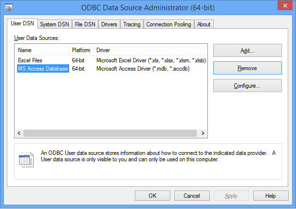 Stata | FAQ: Configuring ODBC in Windows