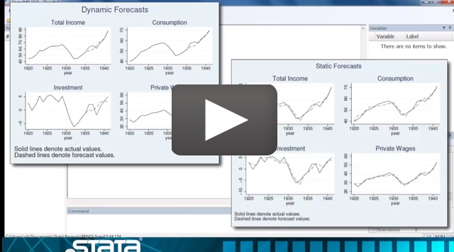 video: Forecasting in Stata