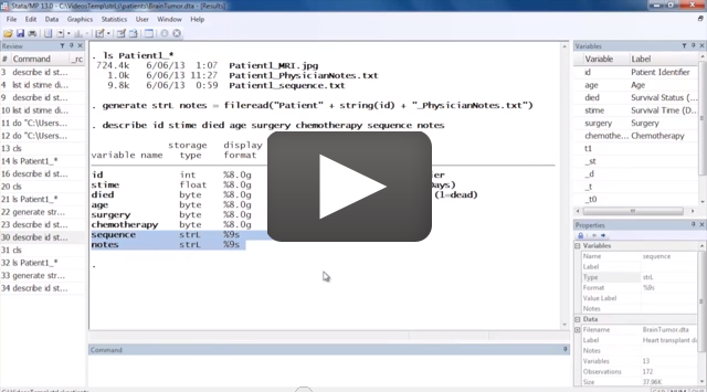 video: Long strings and BLOBs in Stata